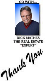 Thanks from Dick Mathes! homes in Mason City, IA and Clear Lake Iowa